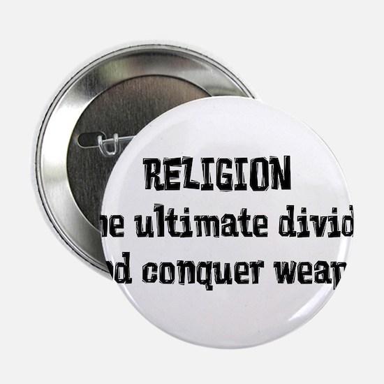 "Religion Weapon 2.25"" Button"