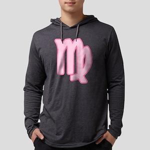 pink-zodiac-virgo Mens Hooded Shirt