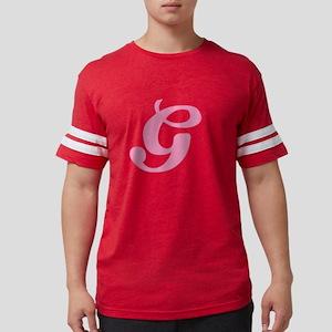 G-pink-initial_tr Mens Football Shirt