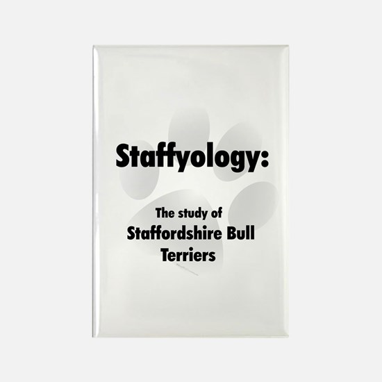 Staffyology Rectangle Magnet