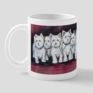 Westie Warriors Mug