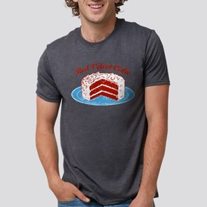 red-velvet-cake2 Mens Tri-blend T-Shirt