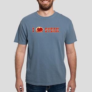i-love-steak Mens Comfort Colors Shirt