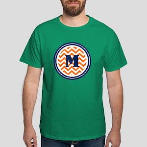 Orange & Navy Dark T-Shirt