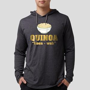 Quinoa Pronunciation Mens Hooded Shirt