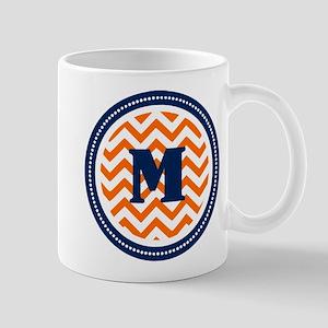 Orange & Navy Mug