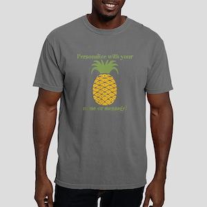PERSONALIZED Pineapple Mens Comfort Colors Shirt