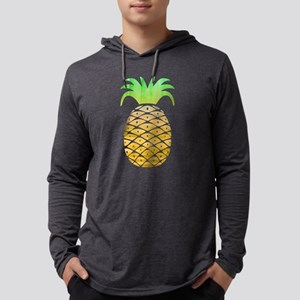 Colorful Pineapple Mens Hooded Shirt