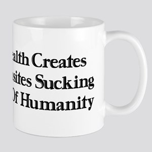 Worthless Rich Parasites Mug