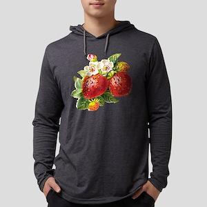 vic-strawberry Mens Hooded Shirt