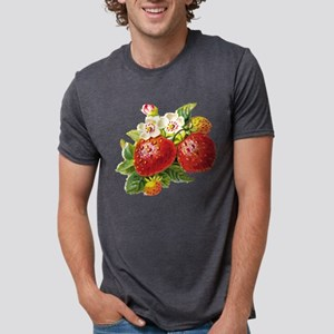 vic-strawberry Mens Tri-blend T-Shirt