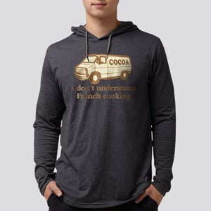 Cocoa Van French Cooking Mens Hooded Shirt