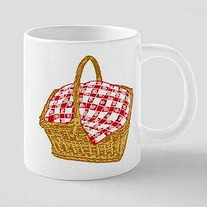 Picnic Basket Graphic 20 oz Ceramic Mega Mug