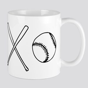 Baseballs and Bats 11 oz Ceramic Mug
