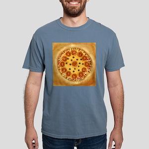 Pizza Mens Comfort Colors Shirt