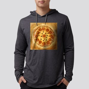 Pizza Mens Hooded Shirt