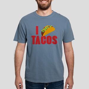 I Love Tacos Mens Comfort Colors Shirt