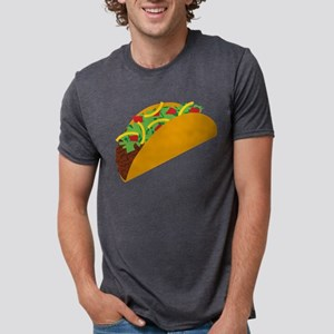 Taco Graphic Mens Tri-blend T-Shirt