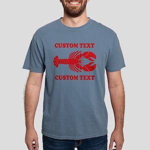CUSTOM TEXT Lobster Mens Comfort Colors Shirt