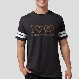i-love-pretzels Mens Football Shirt