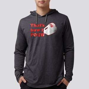 MILK-thats-how-i-pour Mens Hooded Shirt