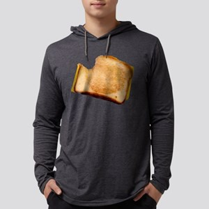 Grilled Cheese Sandwich Mens Hooded Shirt