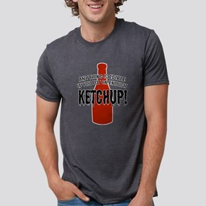 KETCHUP Mens Tri-blend T-Shirt