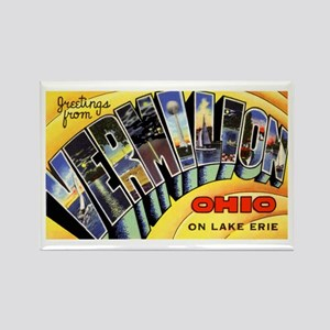 Vermilion Ohio Greetings Rectangle Magnet