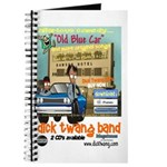 Old Blue Car 25 Anniversary Diary Journal