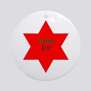 Italian Jew Chrismukkah ornament.