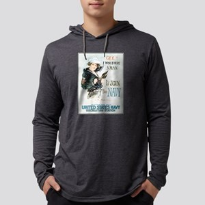 gee-wish-man_tee Mens Hooded Shirt