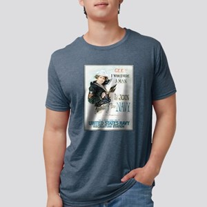 gee-wish-man_tee Mens Tri-blend T-Shirt