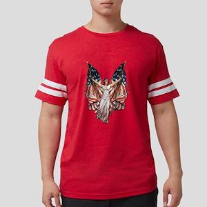 vintage-flag-bearer Mens Football Shirt