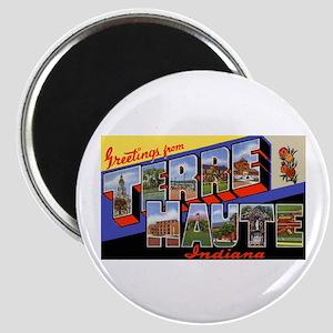 Terre Haute Indiana Greetings Magnet