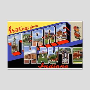 Terre Haute Indiana Greetings Mini Poster Print
