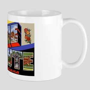 Terre Haute Indiana Greetings Mug