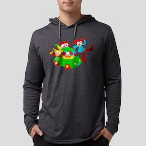 clown-car Mens Hooded Shirt