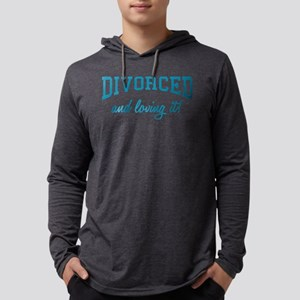divorced-and-loving-it-bu Mens Hooded Shirt