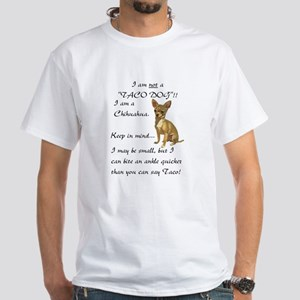 Chihuaha White T-Shirt