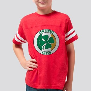 New Jersey Irish American Sha Youth Football Shirt