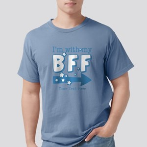 CUSTOM TEXT Im With Me BFF (left arrow) Mens Comfo