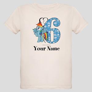 MLP Rainbow Dash 6th Birthday T-Shirt