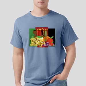 Kwanzaa Design Mens Comfort Colors Shirt
