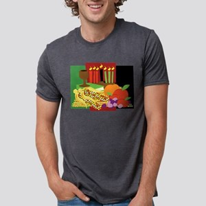 Kwanzaa Design Mens Tri-blend T-Shirt