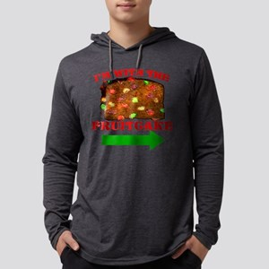 im-with-the-fruitcake Mens Hooded Shirt