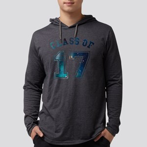 Class of 17 Space Mens Hooded Shirt