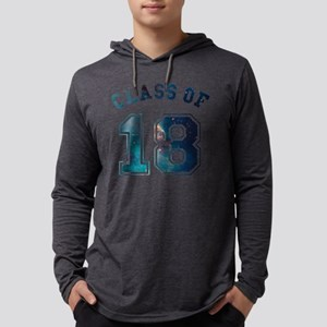 Class of 18 Space Mens Hooded Shirt