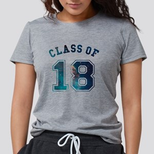 Class of 18 Space Womens Tri-blend T-Shirt