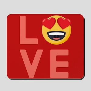 Love Emoji Mousepad