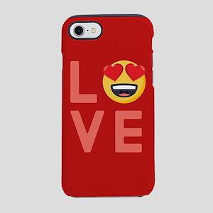 Love Emoji iPhone 7 Tough Case